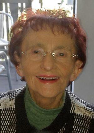 Portrait von Margot Bierbrauer