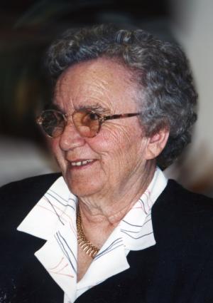 Portrait von Ingeborg Welz