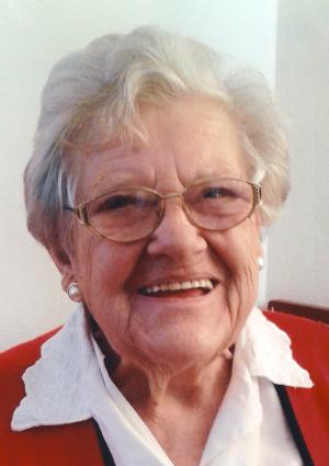 Portrait von Margarete Wiedemann